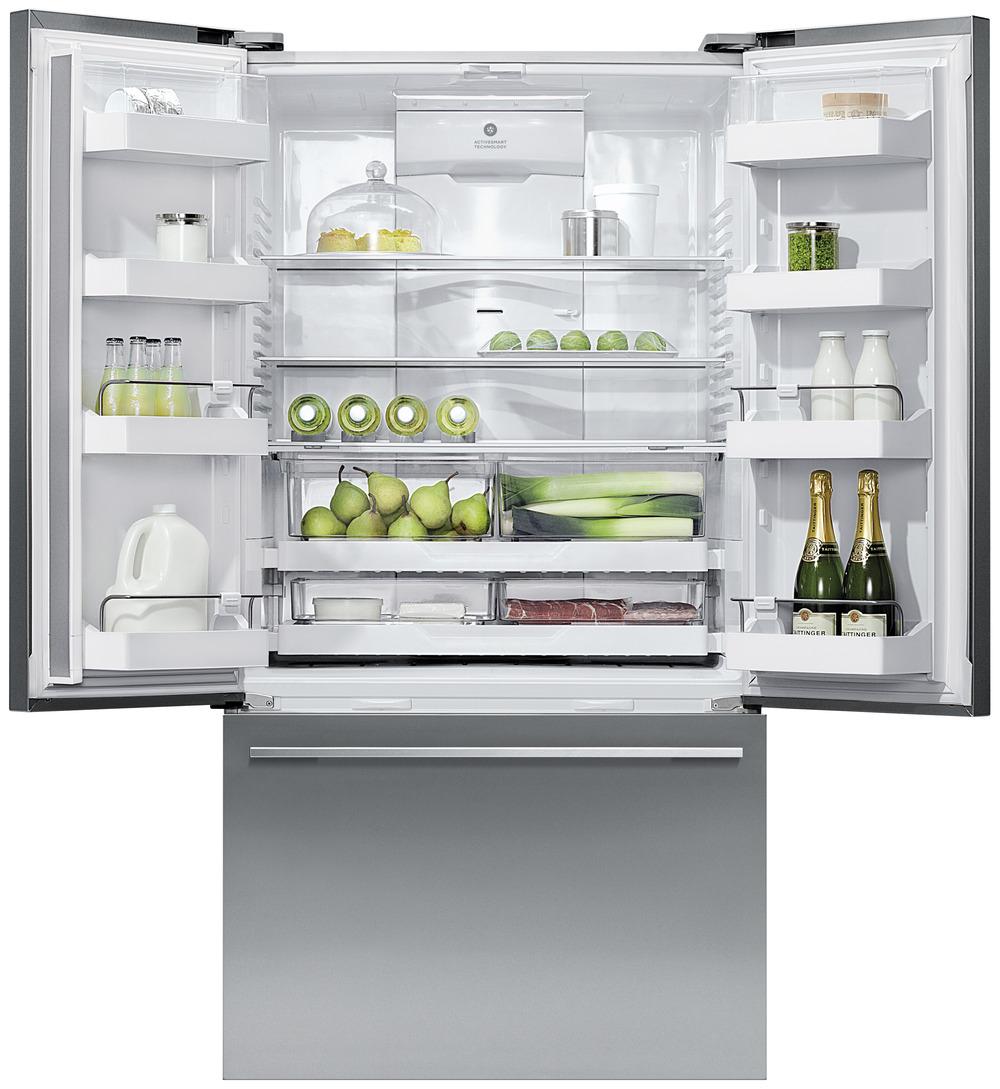 fisher & paykel side by side køleskab