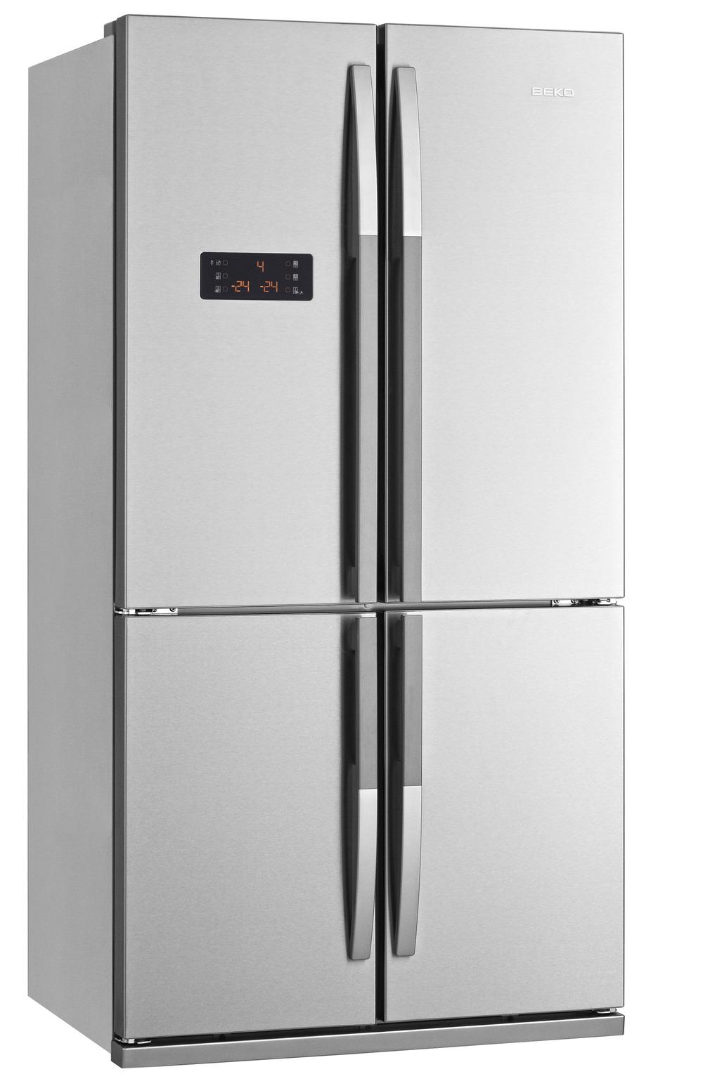 Beko GNE114612XA+ - Flot og funktionelt amerikaner køleskab