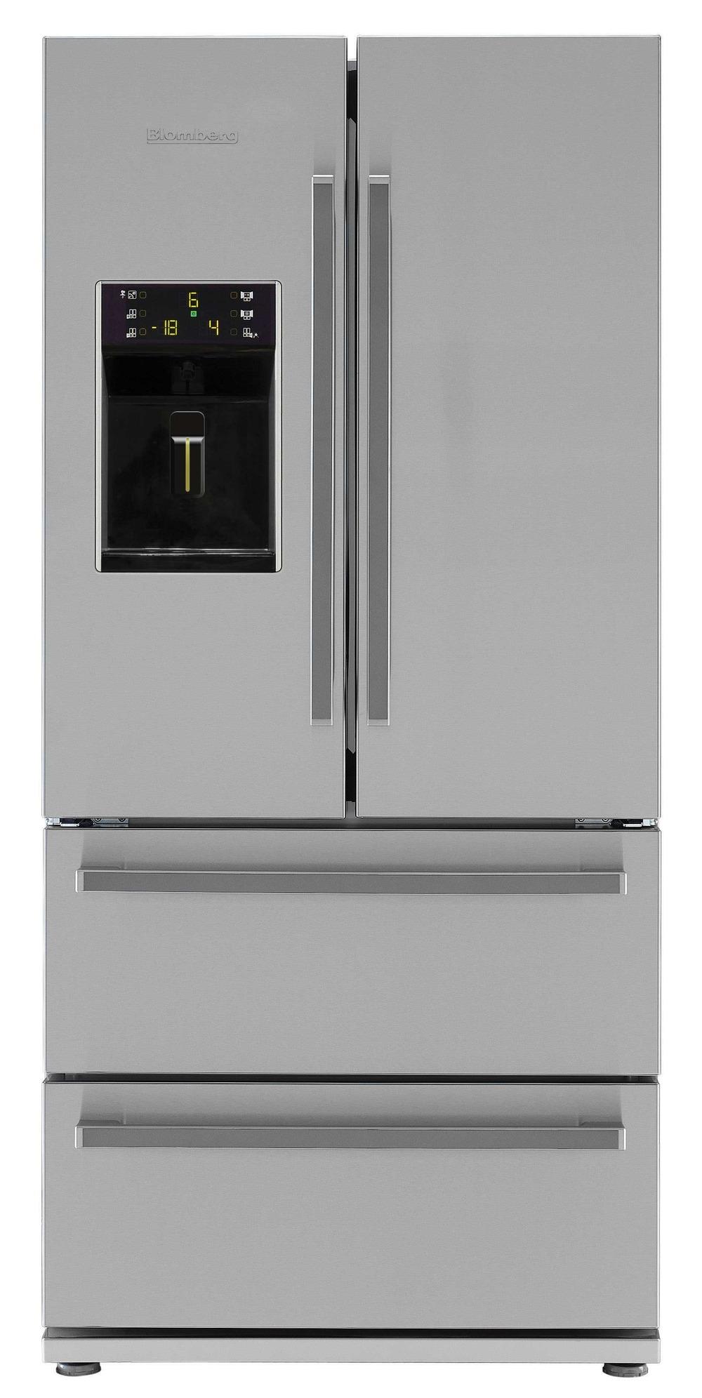 blomberg amerikaner køleskab KFD 9952XA+