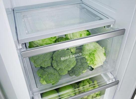 køle- og frysekapacitet