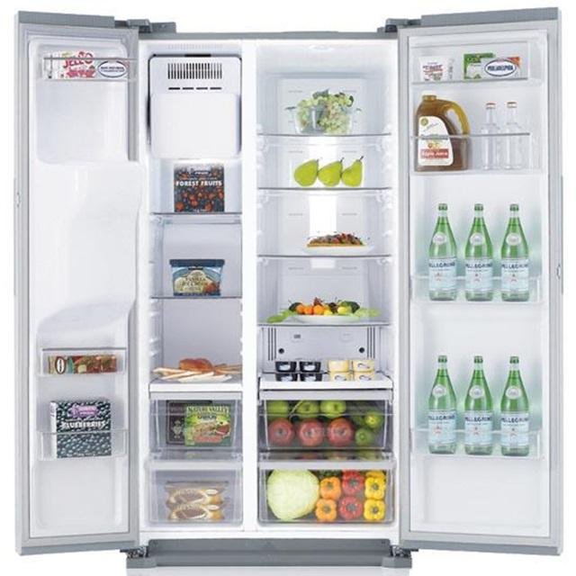 side by side køleskab samsung