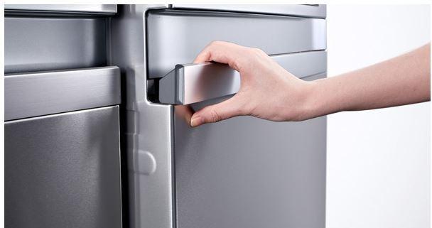 LG køleskab håndtag
