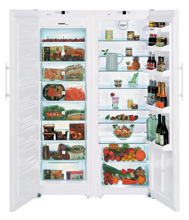 liebherr amerikaner køleskab SBS 7212-23