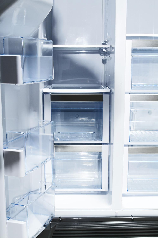 mange funktioner side by side køleskab bosch